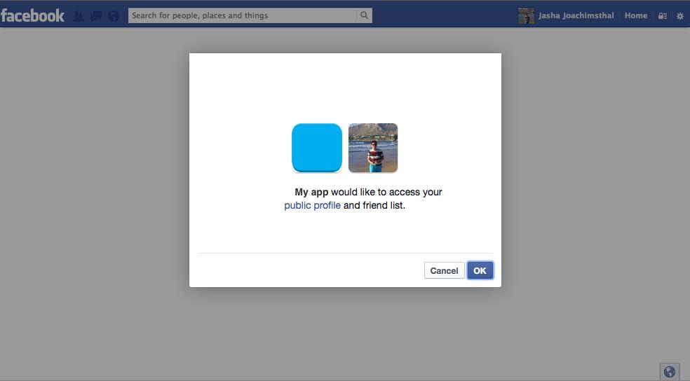 Retrieve Facebook profile data in Java: Scribe - jasha eu